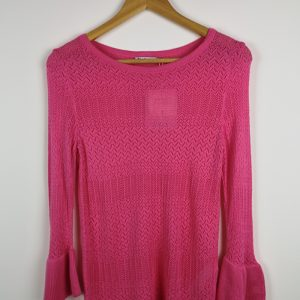 Pink Basic Knitwear with long sleeves - size S