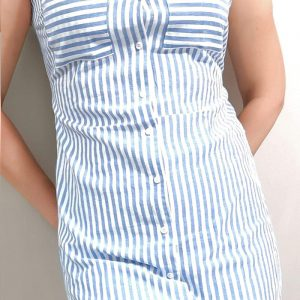 Women Tunic Pocket Front sleeveless 8