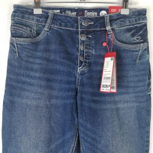 Women Blue Jeans smart straight - s (1)